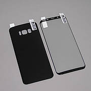 Защитная пленка 3D на Samsung S8 plus Front+Back Black