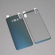 Защитная пленка 3D на Samsung S8 plus Front+Back Blue