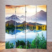 """Декоративна Ширма """"Озеро в горах"""", фото 1"""
