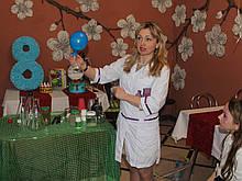 Химическое шоу для детей Сумы