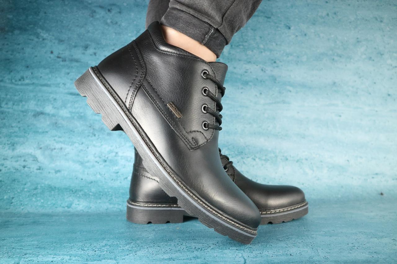 Чоловічі зимові черевики PAV (чорні), ТОП-репліка