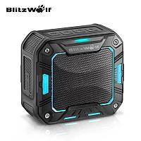 Беспроводная Bluetooth колонка BlitzWolf BW-F2 IP65 Waterproof Blue