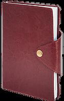 Ежедневник недатированный BUSINESS A6 288стр. BM.2615 бордовый
