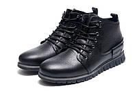 Зимние ботинки мужские Cuddos, черные, натуральная кожа, р. 42 43 44 45