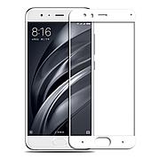Защитное стекло 5D на Xiaomi Mi 6 White