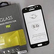 Защитное стекло 5D на Samsung J3 330 (2017) Black