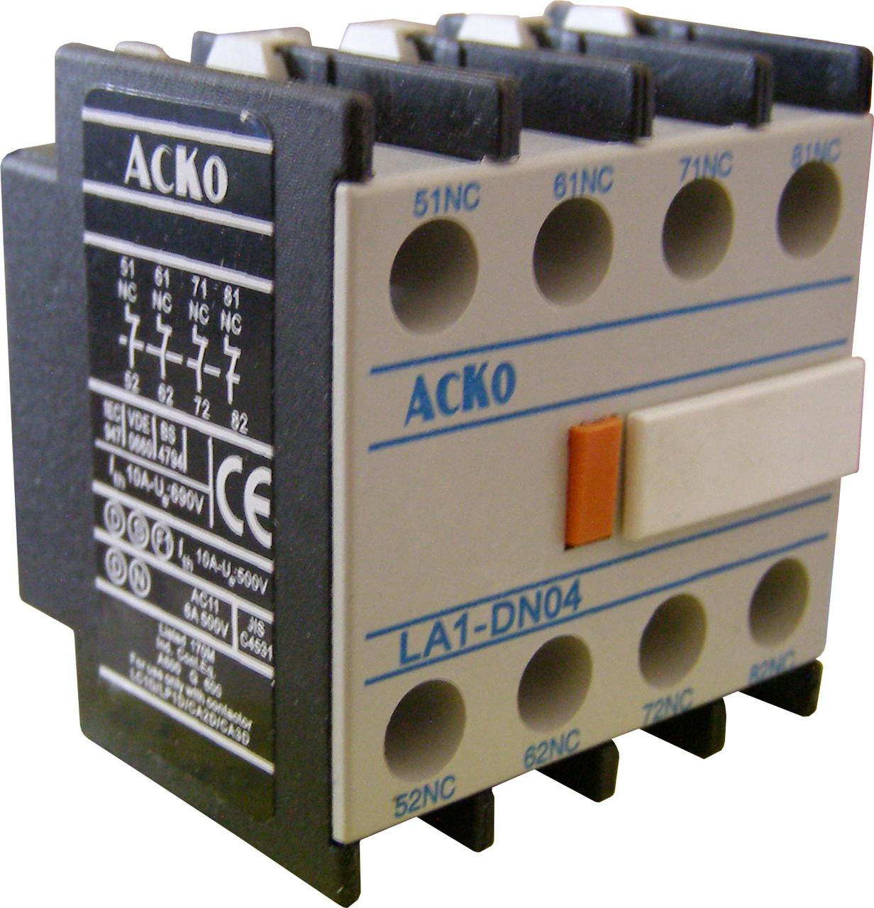 Дополнительный контакт ДК-04 (LA1-DN04)