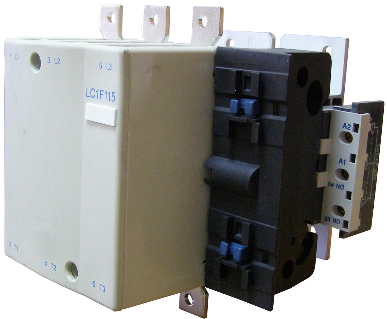Контактор электромагнитный KM 115 (LC1-F115)