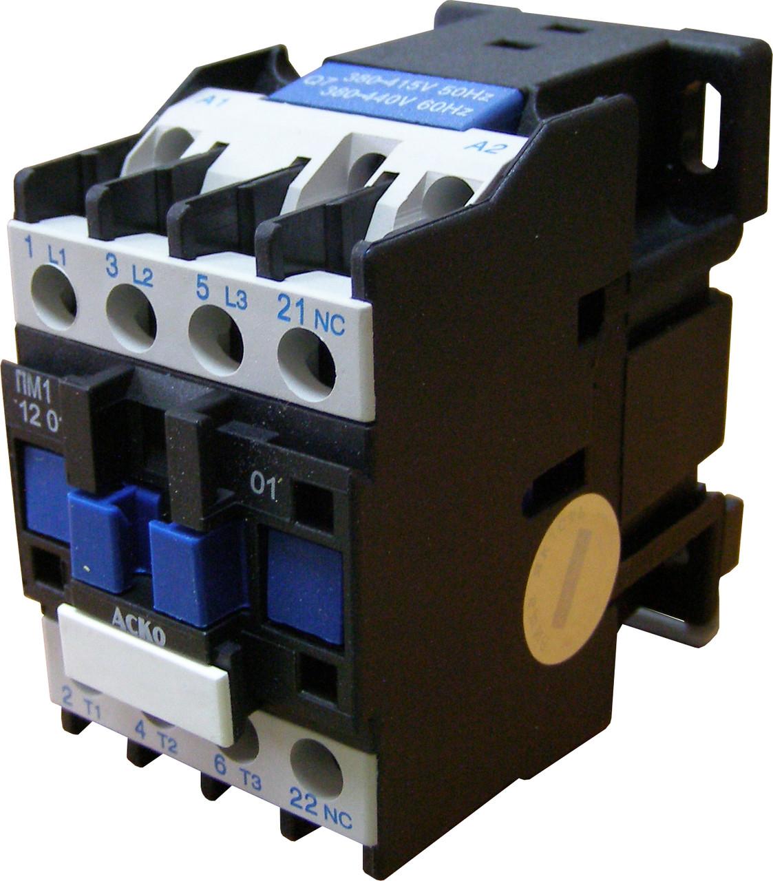Пускатель электромагнитный ПМ 1-12-01 (LC1-D1201)