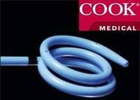 Стент мочеточника универсальный, твердый + позиционер Cook Medical