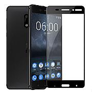 Защитное стекло Full Cover для Nokia 6 Black