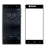 Защитное стекло Full Cover для Nokia 3 Black