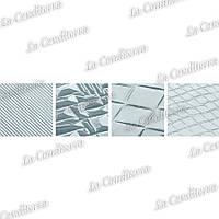 Полиэтиленовые листы для работы с шоколадом (набор из 4 листов)