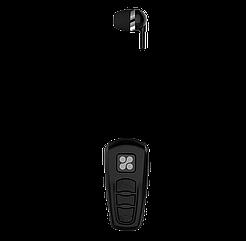 Bluetooth-гарнитура Promate Retrax-2 Black