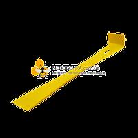 Стамеска-гвоздодер, 240 мм, желтая, нержавейка, Германия