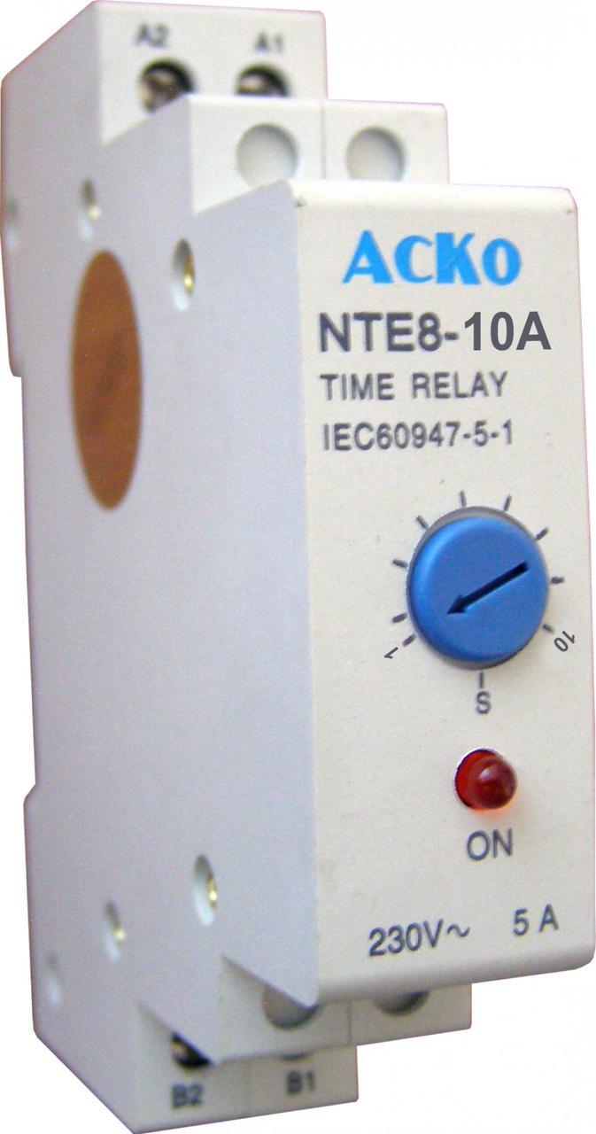 Реле времени NTE8-10A (STE8-10A)