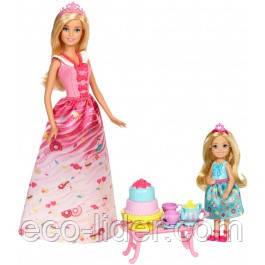 """Игровой набор с куклой Barbie """"Чайная вечеринка принцессы"""", серии """"Дримтопия"""""""