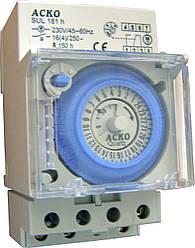 Таймер суточный электромеханический SUL-181h