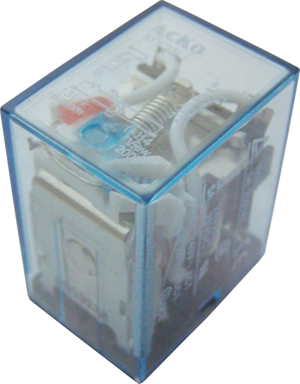 Реле электромагнитное промежуточное переменного  тока МY2 (AC 220 V)