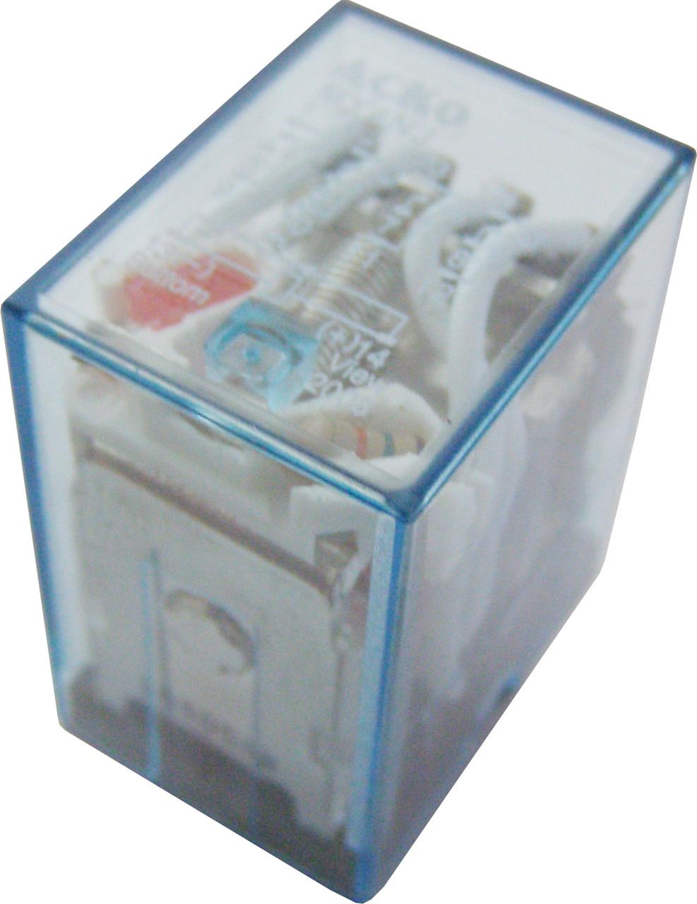 Реле электромагнитное промежуточное переменного  тока МY4 (AC 24 V)