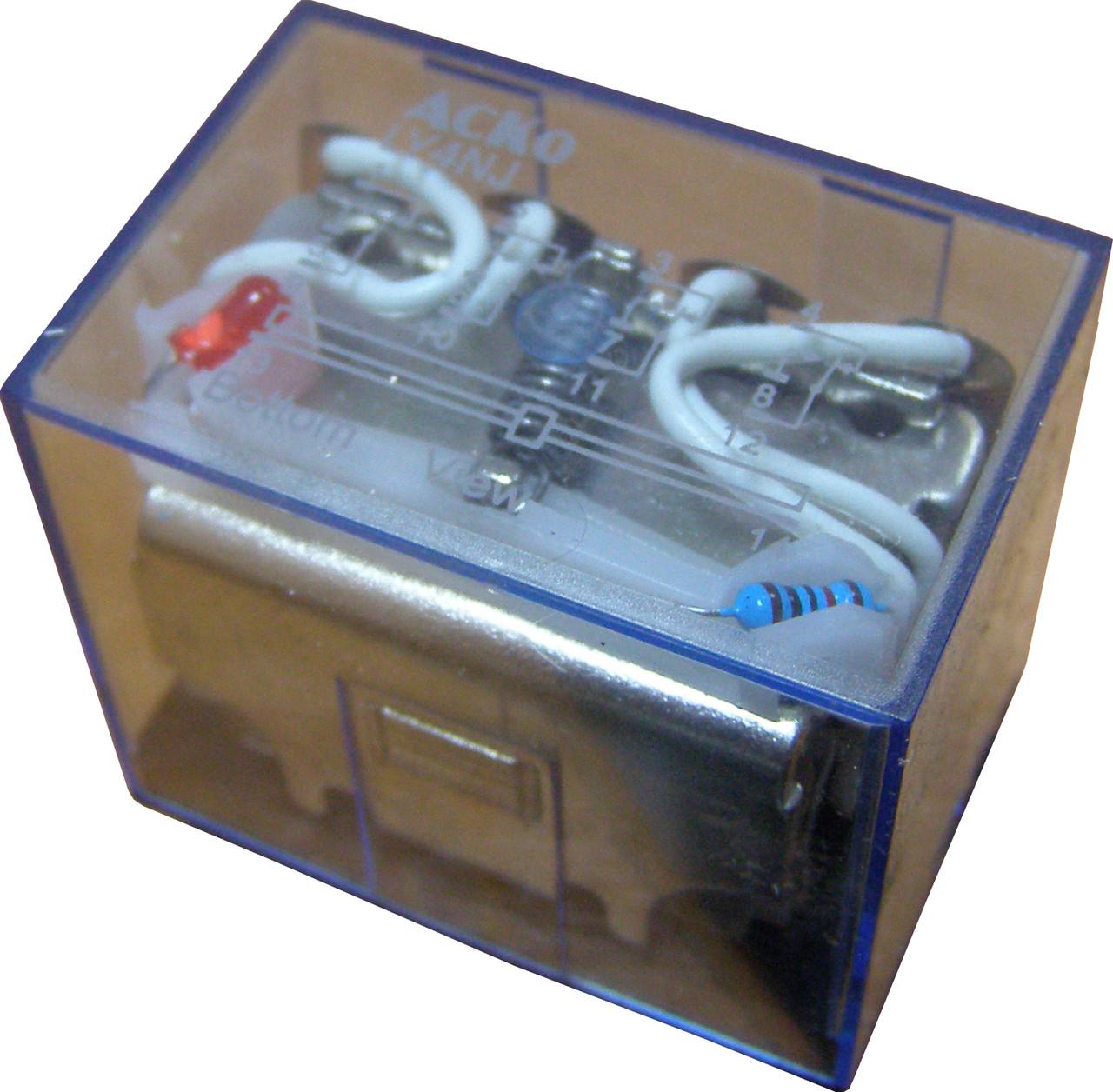 Реле электромагнитное промежуточное переменного  тока LY4 (АС 220 V)