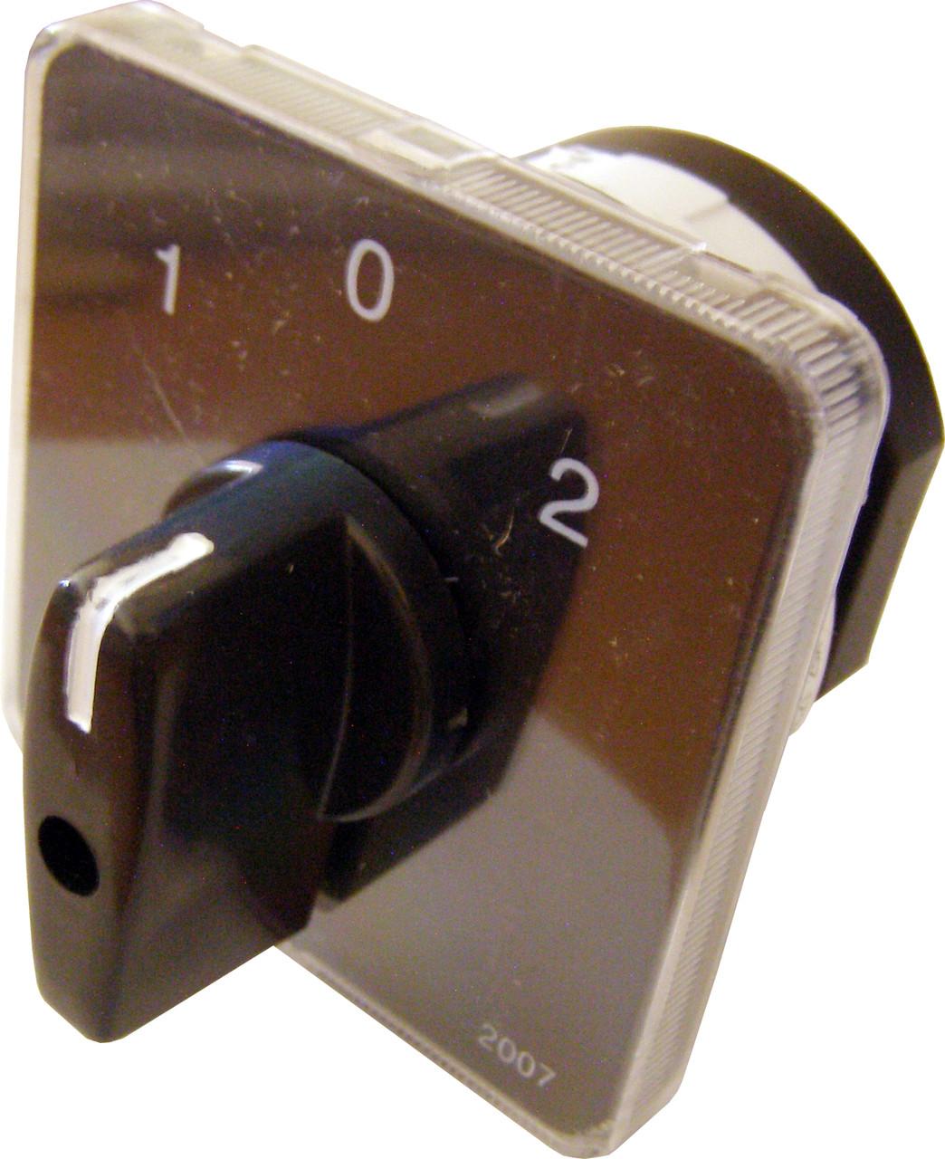 Пакетный кулачковый переключатель ПКП  Е9 25А/1.831 (1-0-2 1 полюс)