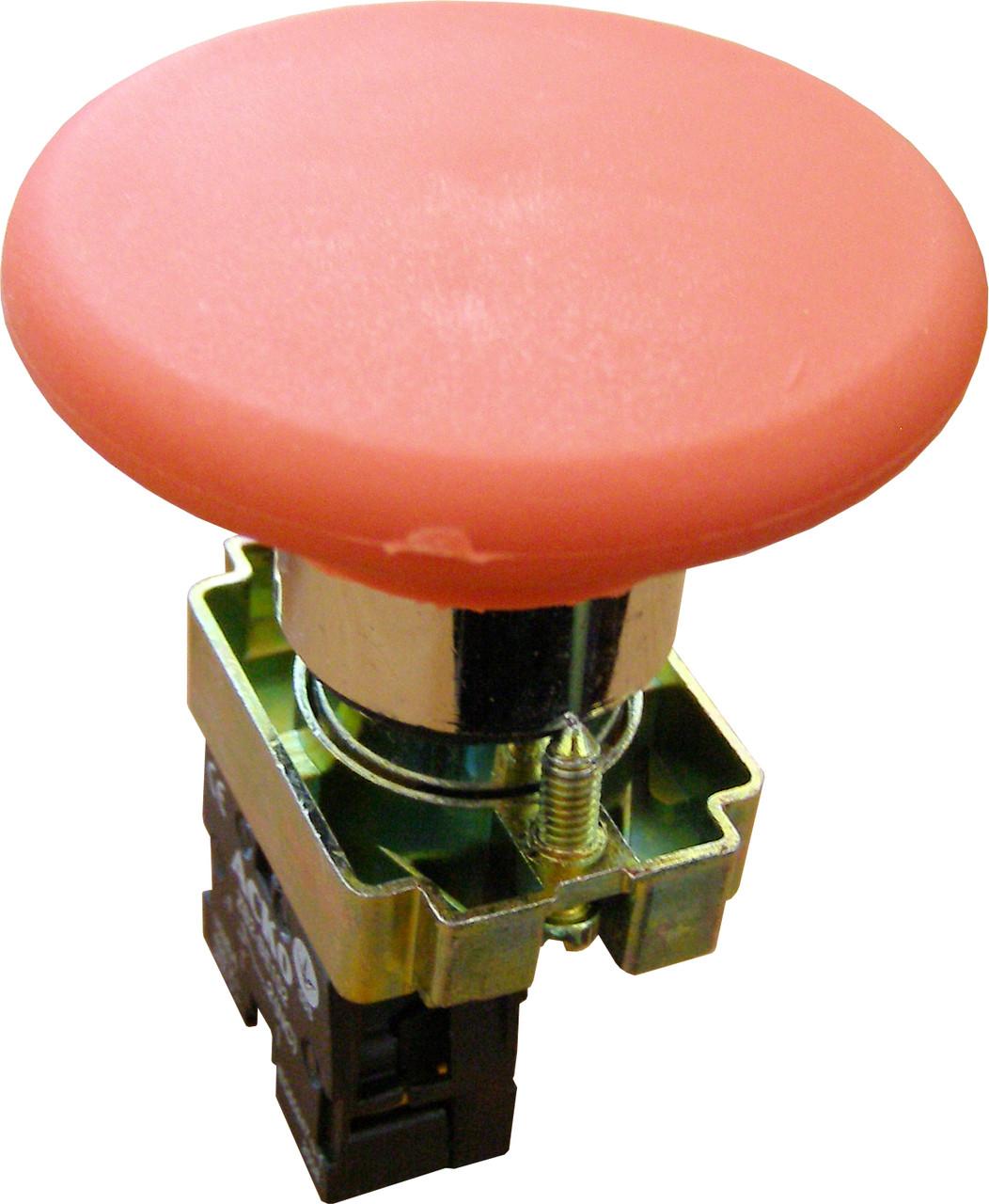 """Кнопка """"грибок"""" (d 60 мм) """"Стоп"""" красная XB2-BR42"""