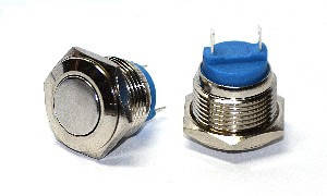 Кнопка металлическая 1NO TY 16-211P Pcb