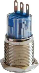 Кнопка металлическая 1NO+1NC TYJ 19-211