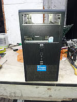 Брендовый корпус HP Compaq microATX с наклейкой Windows