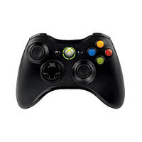 Геймпад безпровідний Microsoft Xbox 360 Wireless Controller for Windows Black