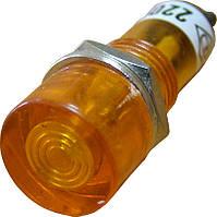 PL1-101 220В Сигнальная арматура желтая
