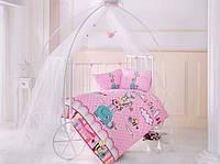 Постельное белье в детскую кроватку 100*150 Friends TM Clasy