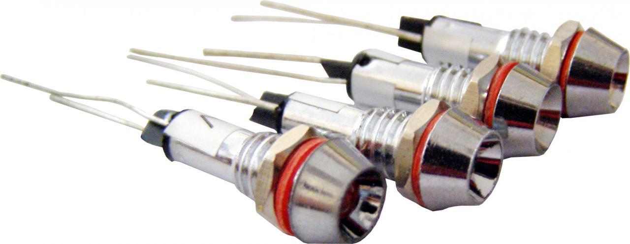 Светосигнальная арматура AD22C-6 красная  220V AC