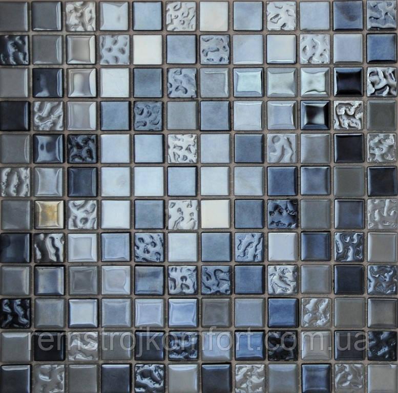 Мозаика Vivacer Декор Mix Dl005 30x30/2.2x2.2