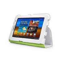 Чехол CAPDASE для планшета Galaxy Tab 2 7.0 Protective Case Folio Dot White/Green