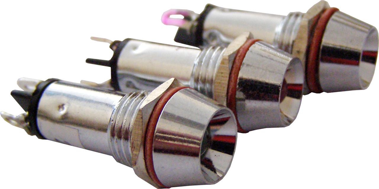 Светосигнальная арматура AD22C-10 белая 220V  AC