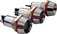 Светосигнальная арматура AD22C-14 белая 24V  AC/DC