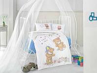 Постельное белье в детскую кроватку 100*150 Качели для мальчиков TM Clasy