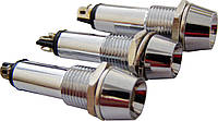Светосигнальная арматура AD22C-9 белая 24V  AC/DC