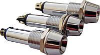 Светосигнальная арматура AD22C-9 желтая 24V  AC/DC