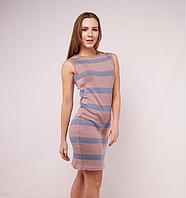 Вязаное платье. Машинное вязание. Трикотаж.
