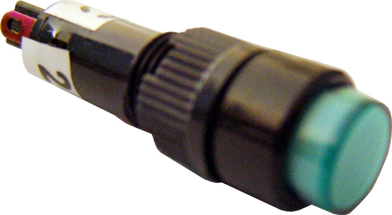 Светосигнальная арматура NXD-215 зеленая  24V AC/DC