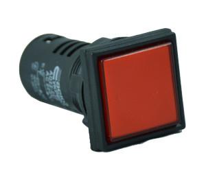 Светосигнальная арматура AD22-22F красная  220V АC