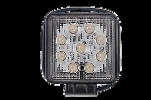 Светодиодная фара рабочего света Allpin мощностью 27 Вт из 9 диодов по 3 Вт фирмы Epistar (6198S27S), фото 2