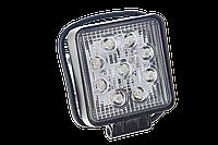 Светодиодная фара рабочего света Allpin мощностью 27 Вт из 9 диодов по 3 Вт фирмы Epistar (6198S27S)