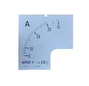 Шкала амперметра 30/5А к А-72-6