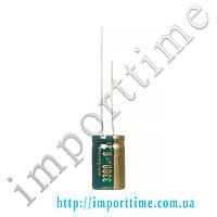 Конденсатор электролитический 3300мкФx 6,3В, 105°C,18x35