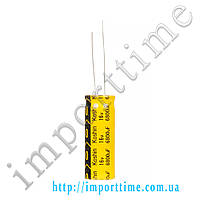 Конденсатор электролитический 6800мкФx16В, 105°C, 12,5x35