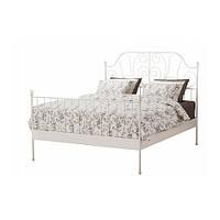 Каркас кровати белый 160x200см IKEA LEIRVIK Luröy 590.066.46
